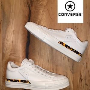 LIMITED Converse Flame All-Star $110 Leather Low